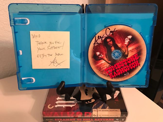 Tombstone Rashomon Blu-ray (interior)